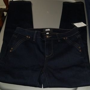 NWT Paige Hoxton Ankle Double Pocket Jeans Size 27